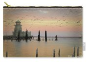 Beau Rivage Lighthouse And Marina Carry-all Pouch