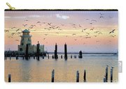 Beau Rivage Marina And Lighthouse Carry-all Pouch
