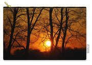 Beauatiful Red Sunset Carry-all Pouch