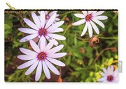 Beautiful African White Daisies Carry-all Pouch