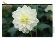 Beautiful And Fresh Dahlias In The Butchrt  Gardens,vancouver Island 3. Carry-all Pouch