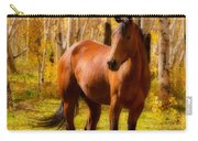 Beautiful Autumn Horse Carry-all Pouch