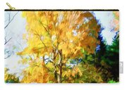 Beautiful Autumn Trees Carry-all Pouch