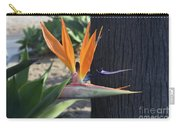 Beautiful Bird Of Paradise Flower In Full Bloom  Carry-all Pouch