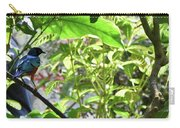 Beautiful Bird Perched In A Tree Carry-all Pouch