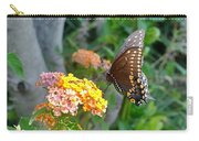 Beautiful Black Swallowtail Butterfly Carry-all Pouch