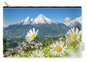 Beautiful Blooming Flower Panorama Carry-all Pouch