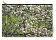 Beautiful Blossoms - Digital Art Carry-all Pouch by Carol Groenen