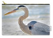 Beautiful Blue On The Beach Carry-all Pouch