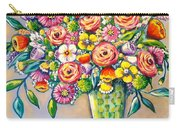 Beautiful Bouquet Carry-all Pouch