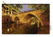 Beautiful Bridge Weesbrug Over The Old Canal In Utrecht At Dusk 220 Carry-all Pouch