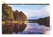 Beautiful Bunn Lake - Zebulon, North Carolina Carry-all Pouch