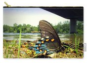 Beautiful Butterfly At The River II Carry-all Pouch