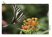 Beautiful Butterfly Waving Carry-all Pouch