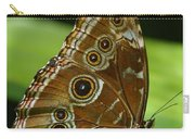 Beautiful Butterfly Wings Of Meadow Brown Carry-all Pouch