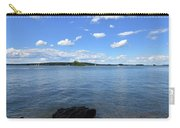 Beautiful Calm Ocean Water's In Casco Bay Maine Carry-all Pouch