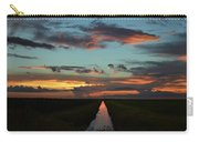 Beautiful Canal Sunset In Florida Carry-all Pouch