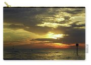 Beautiful Clearwater Sunset Carry-all Pouch