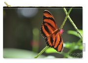 Beautiful Color Patterns To An Oak Tiger Butterfly  Carry-all Pouch