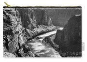 Beautiful Colorado River Page Arizona Blk Wht  Carry-all Pouch