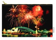 Beautiful Colorful Holiday Fireworks 2 Carry-all Pouch