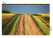 Beautiful Colors Along A Saskatchewan Country Road Carry-all Pouch