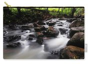 Beautiful Creek In Western Ghats Region Of Karnataka State India Carry-all Pouch