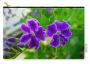 Beautiful Duranta Flower Blossoming Carry-all Pouch