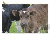Beautiful Face Of A Brown Calf Carry-all Pouch