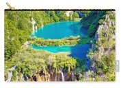 Beautiful Falling Lakes Of Plitvice National Park Carry-all Pouch