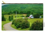Beautiful Farm In Windsor Forks Carry-all Pouch