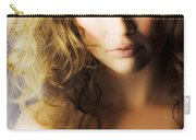 Beautiful Fashion Model Carry-all Pouch by Jorgo Photography - Wall Art Gallery