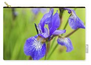 Beautiful Flower Iris Carry-all Pouch
