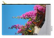 Beautiful Flowering Vine On Patmos Island Greece Carry-all Pouch