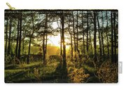 Beautiful Forest At Sunrise Carry-all Pouch