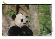 Beautiful Giant Panda Bear In The Wild Carry-all Pouch