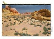 Beautiful Hiking In The Valley Of Fire Carry-all Pouch