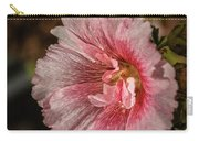 Beautiful Hollyhock Carry-all Pouch