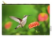 Beautiful Hummingbird Carry-all Pouch
