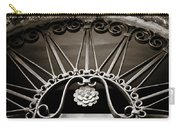Beautiful Italian Metal Scroll Work 2 Carry-all Pouch