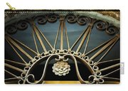Beautiful Italian Metal Scroll Work Carry-all Pouch