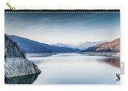 Beautiful Landscape Of The Lake Vidraru Romania Carry-all Pouch