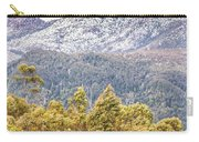 Beautiful Landscape With Partly Snowed Mountain  Carry-all Pouch