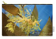 Beautiful Leafy Sea Dragon Carry-all Pouch by Brooke Roby