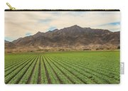 Beautiful Lettuce Field Carry-all Pouch