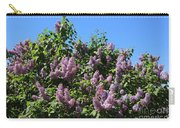 Beautiful Lilacs Day Carry-all Pouch