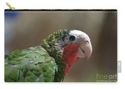 Beautiful Look At At The Profile Of A Conure Parrot Carry-all Pouch