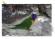Beautiful Lorikeets Carry-all Pouch