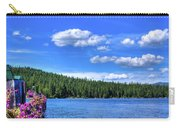 Beautiful Luby Bay On Priest Lake Carry-all Pouch