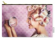 Beautiful Model With Fresh Makeup And Hairstyle Carry-all Pouch by Jorgo Photography - Wall Art Gallery